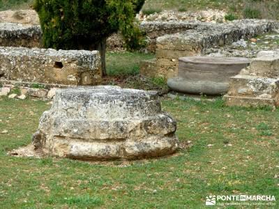 Yacimiento Clunia Sulpicia - Desfiladero de Yecla - Monasterio Santo Domingo de Silos - viaje en abr
